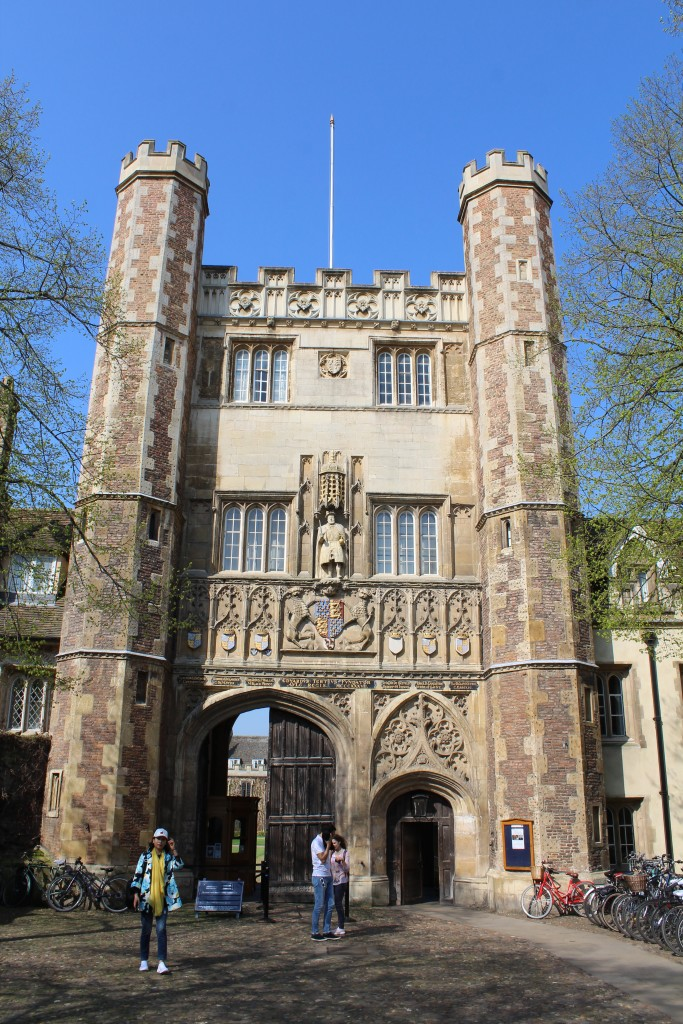 Entrance to Trinity College, St. John Street. Photo 20. april 2018 by Erik K Abrahamsen.